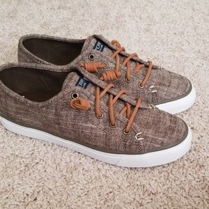 Sperry Seacoast Olive